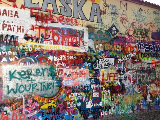 Lennon Wall now