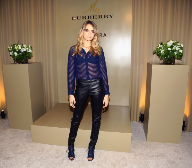 MMS only: Sephora + Burberry Cara Delevingne Personal Appearance